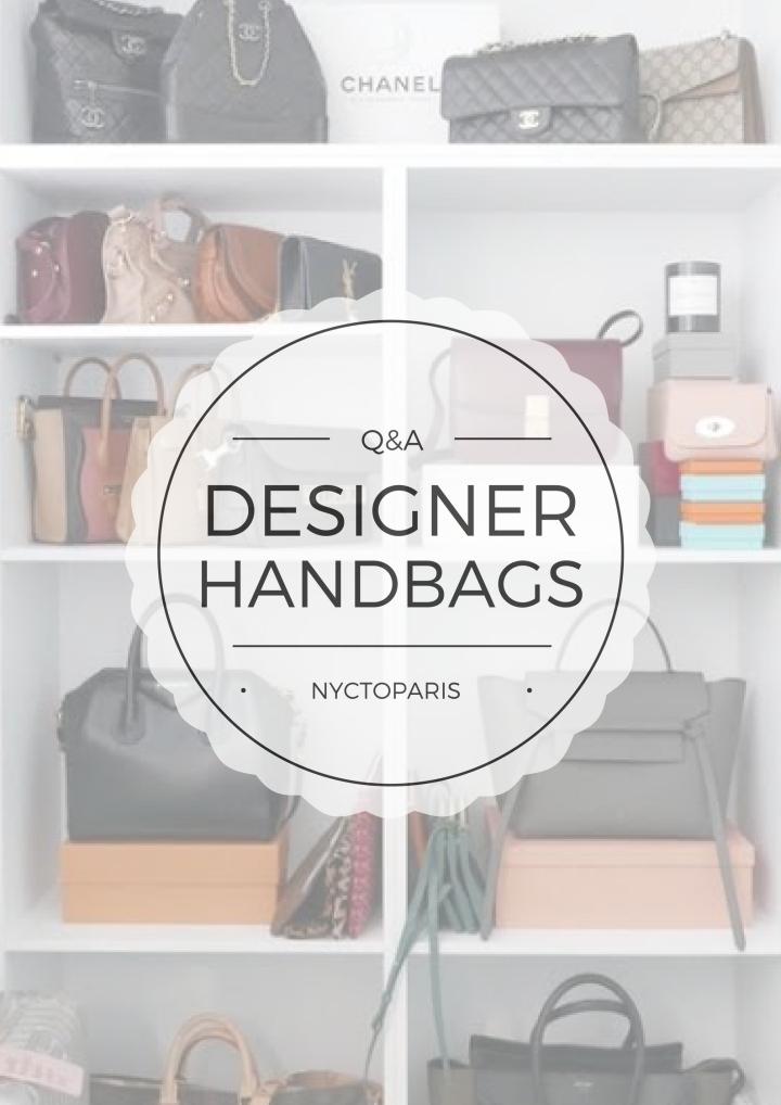 Q&A || DesignerHandbags
