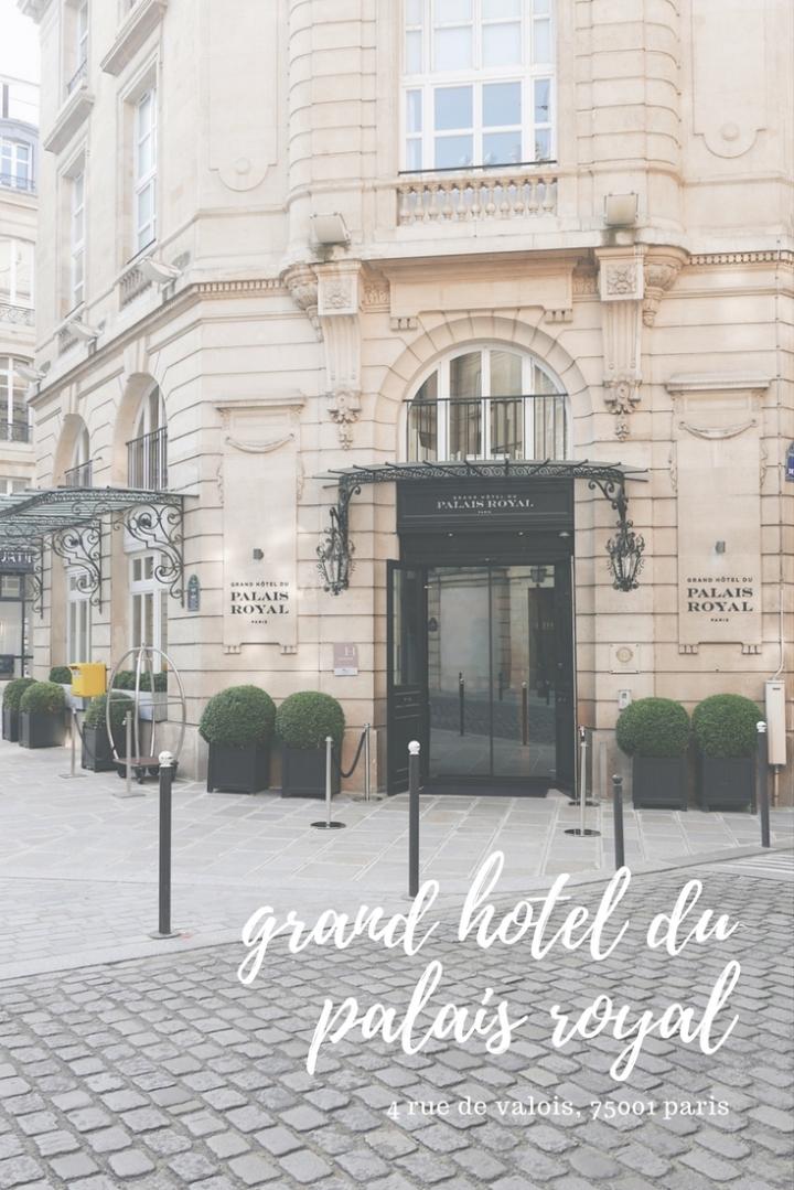 Stay in Paris: Grand Hotel du PalaisRoyal