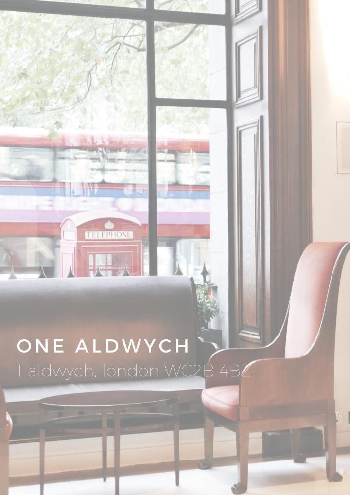 Stay in London: OneAldwych