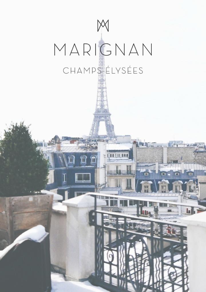 Stay in Paris: Hotel MarignanChamps-Elysées