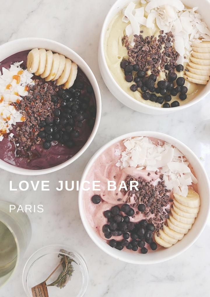 Eat in Paris: Love JuiceBar
